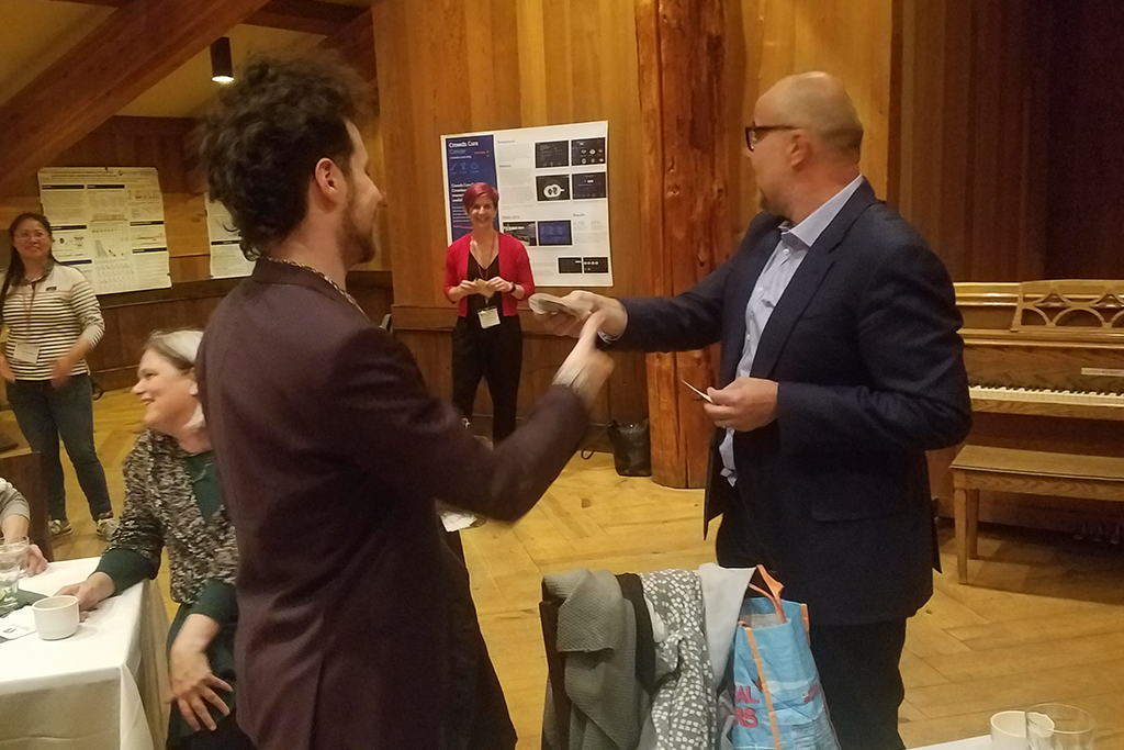 """Aaron Chevalier (Graduate student in Bioinformatics) - Aaron received an award for """"Best Poster"""" at the annual Informatics Technologies for Cancer Research (ITCR) meeting (May, 2019)."""